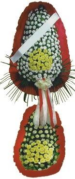 Çift katlı düğün açılış çiçeği  Gaziantep internetten çiçek satışı