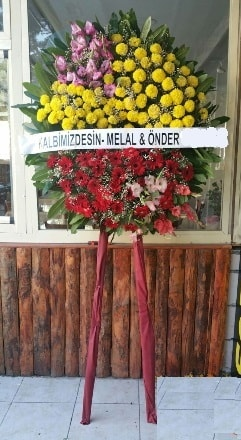Gaziantep hediye çiçek yolla  Cenaze çiçek modeli