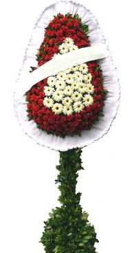 Çift katlı düğün nikah açılış çiçek modeli  Gaziantep uluslararası çiçek gönderme