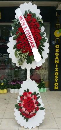 Çift katlı düğün nikah çiçeği modeli  Gaziantep online çiçekçi , çiçek siparişi