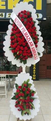 Çift katlı düğün nikah çiçeği modeli  Gaziantep güvenli kaliteli hızlı çiçek