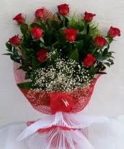 11 adet kırmızı gülden görsel çiçek  Gaziantep çiçek servisi , çiçekçi adresleri