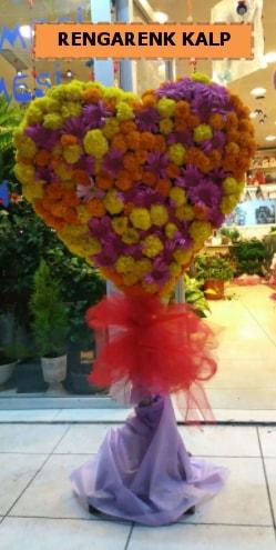 Ankara mevsim çiçeklerinden kalp perförje  Gaziantep çiçek online çiçek siparişi