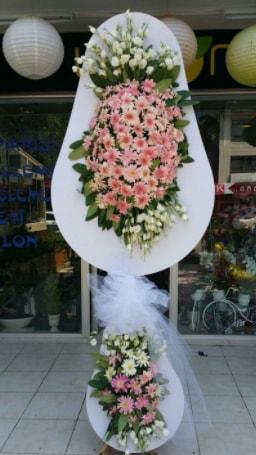 Çift katlı özel şahane sepet çiçeği  Gaziantep çiçek online çiçek siparişi