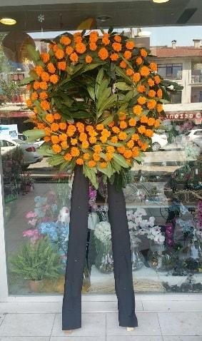 Cenaze çiçeği cenaze çelengi çiçek modeli  Gaziantep hediye sevgilime hediye çiçek
