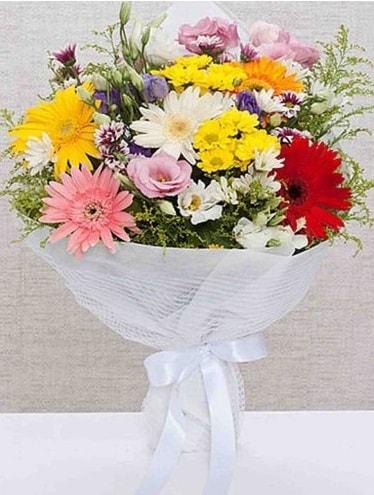 Karışık Mevsim Buketleri  Gaziantep kaliteli taze ve ucuz çiçekler