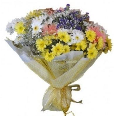 Karışık mevsim çiçeği  Gaziantep çiçek servisi , çiçekçi adresleri