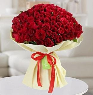 101 adet kırmızı gül buketi koca demet  Gaziantep çiçek gönderme sitemiz güvenlidir
