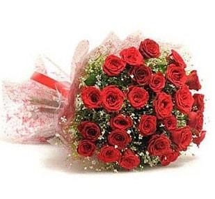 27 Adet kırmızı gül buketi  Gaziantep kaliteli taze ve ucuz çiçekler
