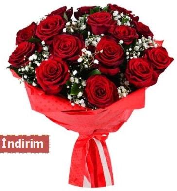 12 Adet kırmızı aşk gülleri  Gaziantep çiçek servisi , çiçekçi adresleri