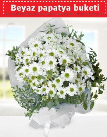 Beyaz Papatya Buketi  Gaziantep ucuz çiçek gönder