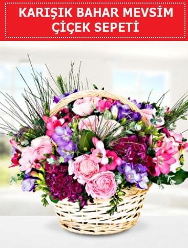 Karışık mevsim bahar çiçekleri  Gaziantep kaliteli taze ve ucuz çiçekler